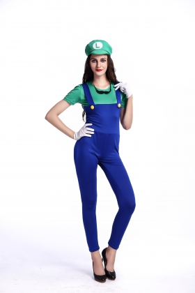 Green Mario Costumes for Carvinal 22595-1