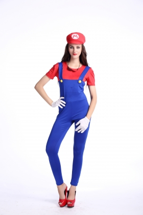 Red Mario Costumes for Carvinal 22595-2