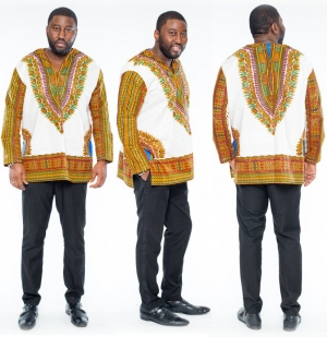 African Dashiki Men Shirts 22634