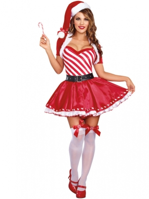 Christmas Costume Candy Women Costumes 23032