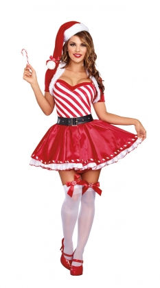 Christmas Candy Cane Costume 23359