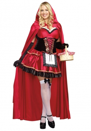 Little Red Riding Hood Costume for Halloween Carvinal 22240
