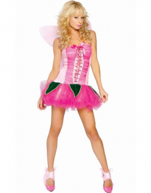 Pretty Pink Pixie Costume 11035