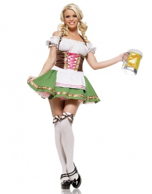 German Girl Costume 10579